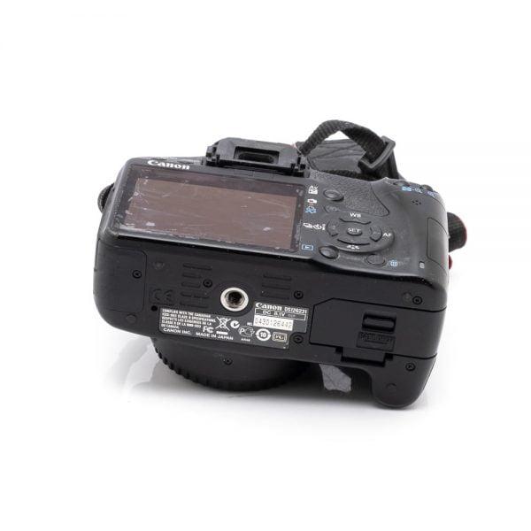 Canon 500D – Käytetty