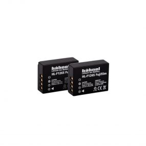 Hähnel HL-F126S ( Fuji NP-W126S ) Twin Pack