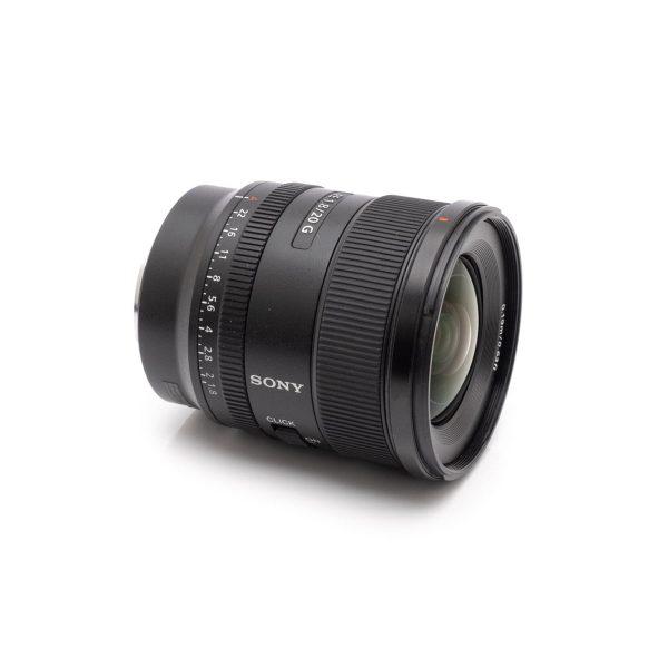 Sony FE 20mm f/1.8 – Käytetty