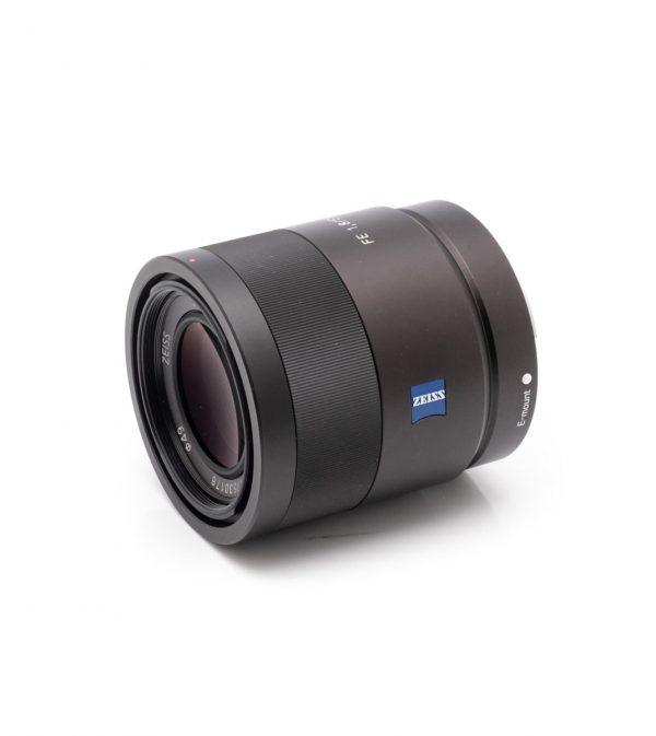 Sony FE 55mm f/1.8 (Takuuta 6kk, Kunto K5) – Käytetty