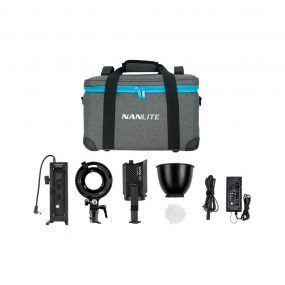 NANLITE Forza 60 Kit ( Bowens adaptor + Batteryholder )