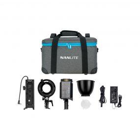 NANLITE Forza 60B Kit ( Bowens adaptor + Batteryholder )