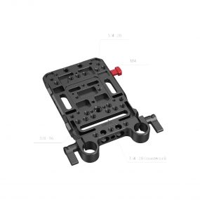 Smallrig 3016 Battery Plate V-Mount w Rod Clamp