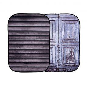 Lastolite Urban Collapsible Background 1.5 x 2.1m Shutter/Distressed Door